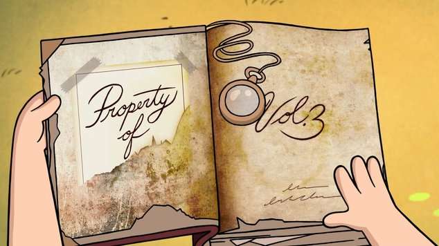 Как сделать дневник гравити фолз 1 часть